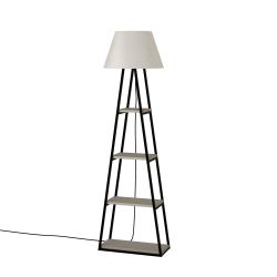 Floor Lamp Pal | Light Mocha & Linen