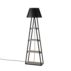 Floor Lamp Pal | Light Mocha & Black
