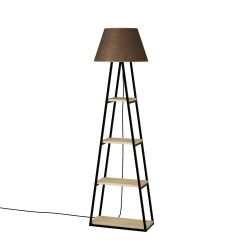 Floor Lamp Pal | Oak & Brown