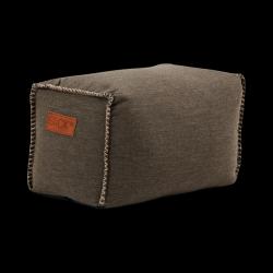 Pouf Quadrat Cobana | Braun