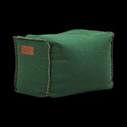 Pouf Quadrat Cobana | Grün