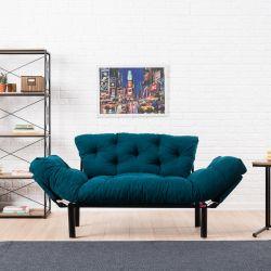 2-Sitz-Sofabett Nitta | Benzinblau