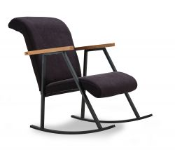 Rocking Chair Yoka | Black