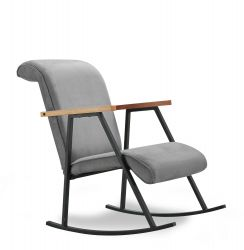 Rocking Chair Yoka | Grey