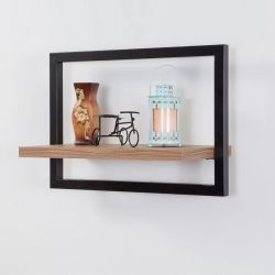 Wall Shelf Decor Raf - 50 x 35 cm | Black Pine