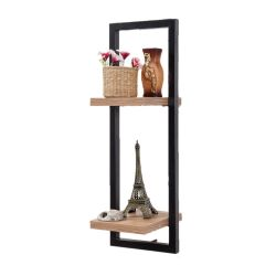 Wall Shelf Decor Raf - 25 x 75 cm | Black Pine