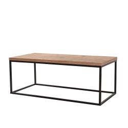 Coffee Table Quantum Media | Black Pine