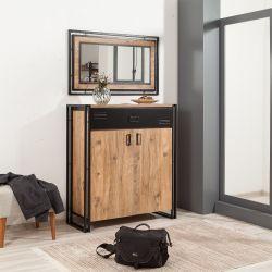 Shoe Cabinet Cosmo Pesus | Black Pine