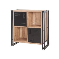 Bookshelf Cosmo Soft | Black Pine