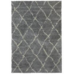 Teppich G0276M | Grau & Beige