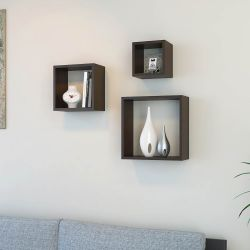 Shelf Fuji Set of 3 | Wenge