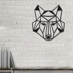 Wanddekoration Tiere Wolf