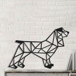 Wanddekoration Tiere Hund