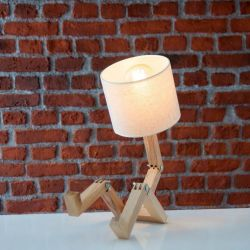 Table Lamp Omino | Light Wood / White