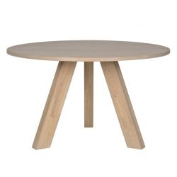 Rhonda Diner Table | Ø129 Smoked Oak