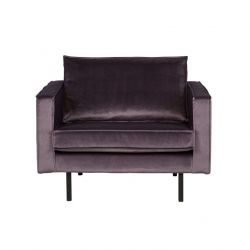 Armchair | Velvet Grey