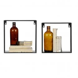 Wall Shelf Meert | Small Square | Set of 2