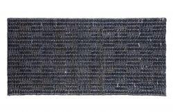 Scenes Rug Jute Soft Black | 70 x 140 cm