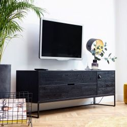 TV Cabinet Silas | Black