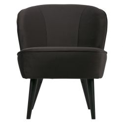 Armchair Sara | Velvet Dark Grey