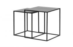 Tables d'Appoint Set de 2 Zita | Noir
