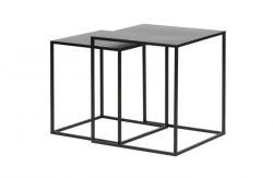 Side Tables Zita Set of 2 | Black