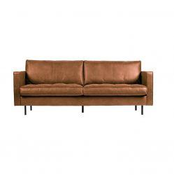 2,5er-Sofa Classic Rodeo | Cognac