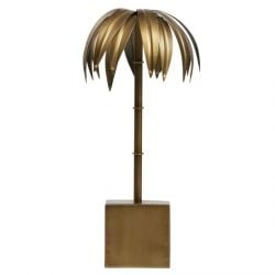 Palm Deco Medium | Brass