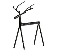 Rudolph Metal Reindeer XL | Black