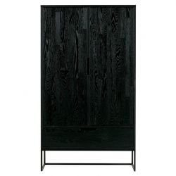 Silas Cabinet 2 Doors | Black