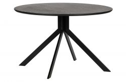 Round Dining Table Bruno | Black