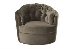 Carousel Swivel Chair | Khaki
