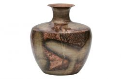 Spot On Vase Metal Gold Copper | Extra Large