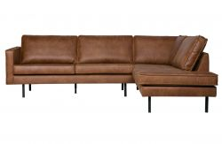 Corner Sofa Right Rodeo | Cognac