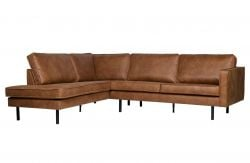 Corner Sofa Left Rodeo | Cognac
