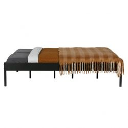 Bed Pepijn 200 x 160 cm | Black
