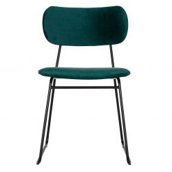 Dining Chair Wimple | Petrol Blue