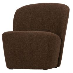 1 Seater Sofa Lofty | Brown