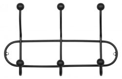 Coat Rack Barb | Black