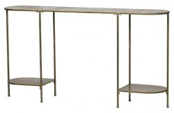 Table d'Appoint Federal  145 cm | Laiton
