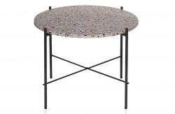 Side Table Vayen | Terrazzo | Grey | 49 cm x 63 cm
