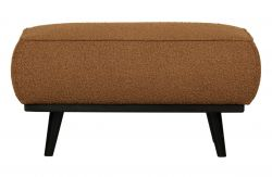 Pouf Statement Buckled | Brun