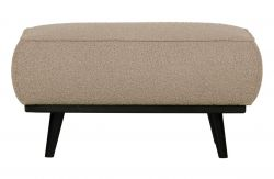 Pouf Statement Buckled | Beige