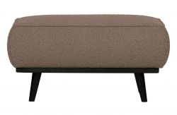 Pouf Statement Buckled |  Nougat Gris