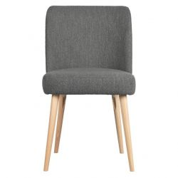 Dining Chair Force Set of 2 | Steel Grey