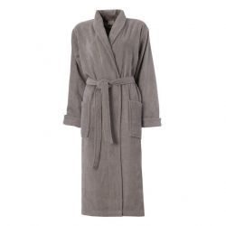 Bathrobe Pure | Cement Grey