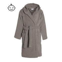Bathrobe Pure for Kids | Cement Grey