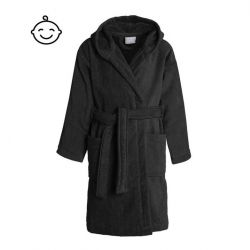 Bathrobe Pure for Kids | Black