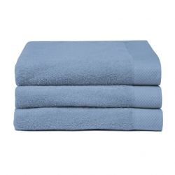 Bath Towel Pure Blue | Set of 3