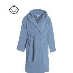 Bathrobe Pure for Kids | Blue